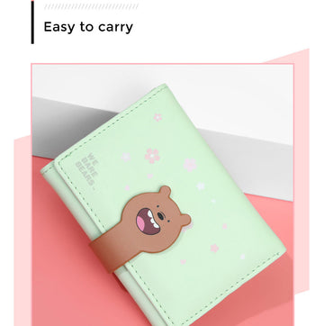 MINISO WE BARE BEARS WALLET(GRIZZLY) 2008182012109 WOMEN'S WALLET