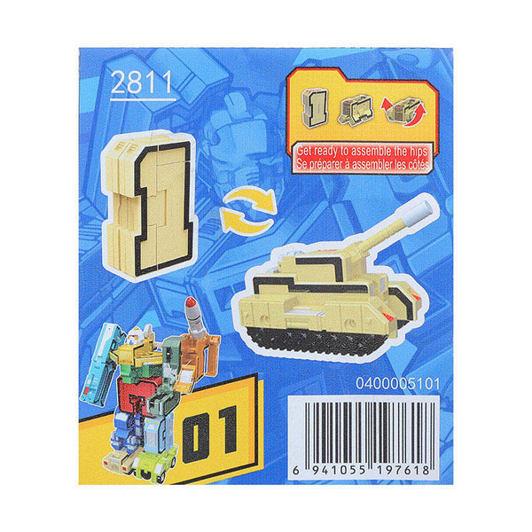 MINISO DIGIT VARIANT TOY 2008449011104 TRANSFORMATION TOYS