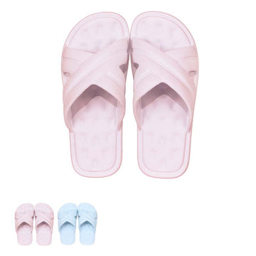 MINISO WOMEN'S SLIPPERS(37-38) 2008607610101 BATHROOM SLIPPERS