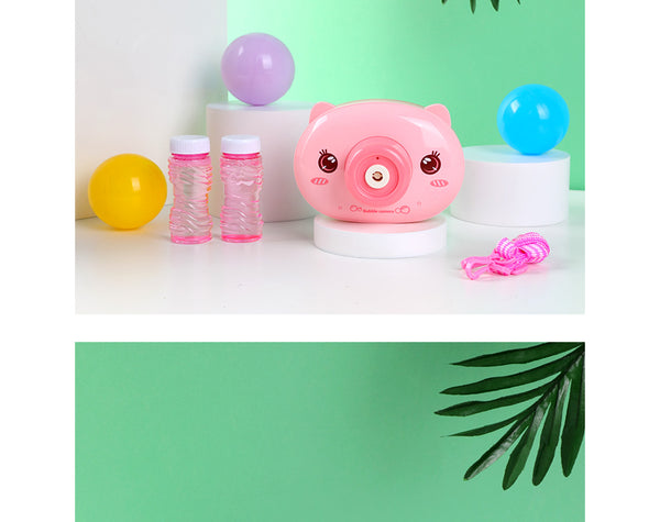 MINISO ANIMAL SERIES CAMERA BUBBLE MACHINE (PIGGY) 2009858210102 ELECTRONIC TOYS
