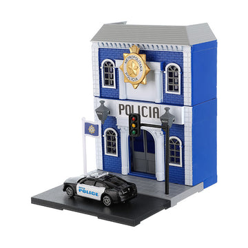 MINISO TOY CAR SET (POLICE STATION) 2009873611106 SPORT TOYS