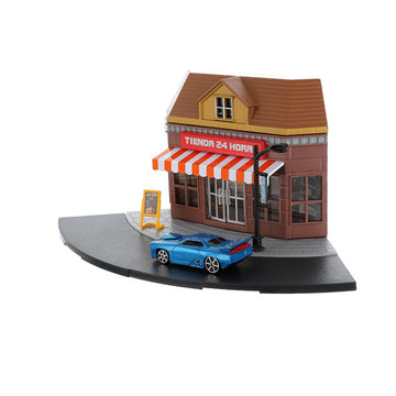 MINISO TOY CAR SET (RESTAURANT) 2009873614107 SPORT TOYS