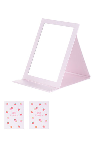 MINISO STRAWBERRY SERIES FOLDED MIRROR 2190334810104 TABLE MIRROR