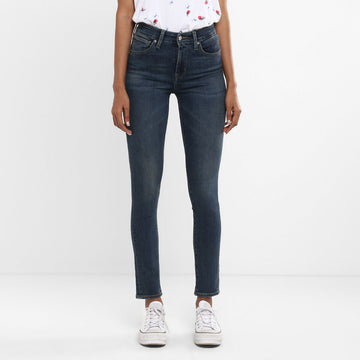 LEVIS 721 HIGHRISE SKINNY BUFFLE HEAD 24475-0055 DENIM PANT (JEANS) (W)