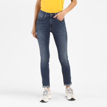 LEVIS 721 HIGHRISE SKINNY LET IT 24475-0080 DENIM PANT (JEANS) (W)