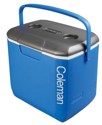 Coleman 3000005587 30Qt Blue / White Cool Box