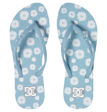 DC Spray Graffik 303363-LTB Flip Flop (W)