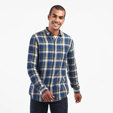 LEVIS SLANT POCKET 32874-0290 SHIRT LONG SLEEVE (M)