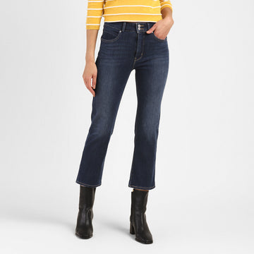 LEVIS STRAIGHT CROP POP LOCK AND DROP 37764-0001 DENIM PANT (JEANS) (W)