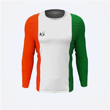 K6 White  Long Sleeve Football Jersey Uniform