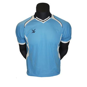 Fbt Blue Jersey Short Sleeve Football Uniform