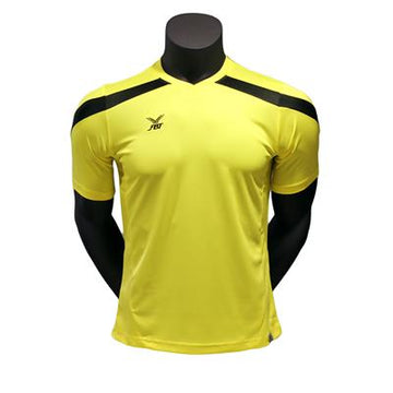 Fbt Yellow Jersey Short Sleeve Football Uniform