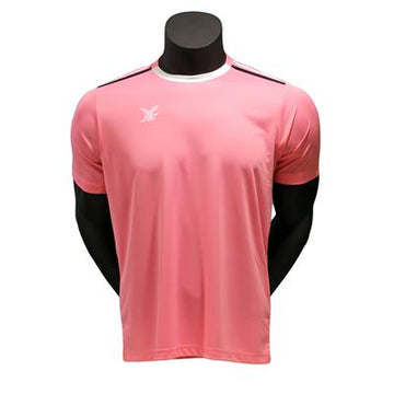Fbt Pink Jersey Short Sleeve Football