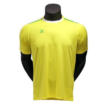 Fbt Yellow  Short Sleeve Football Jersey Uniform