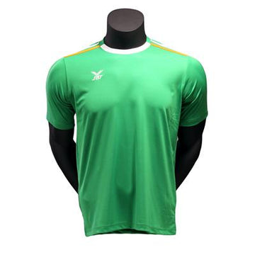 Fbt Green Short Sleeve Football  Jersey Uniform