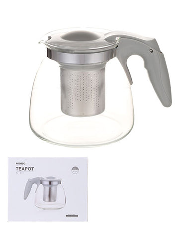 MINISO TEAPOT 900ML (GREY) 0100032453 TEA SET