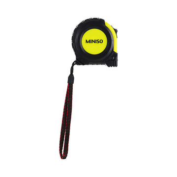 MINISO 5M TAPELINE(BLACK AND YELLOW) 0100029011 HARDWARE