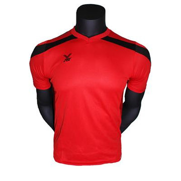 Fbt Red Jersey Short Sleeve Football Unifrm