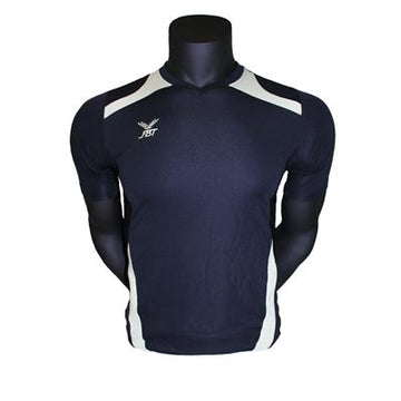 Fbt Navy Jersey Short Sleeve Football Uniform