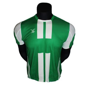 Fbt 12-307-Green Jersey Short Sleeve Football Uniform