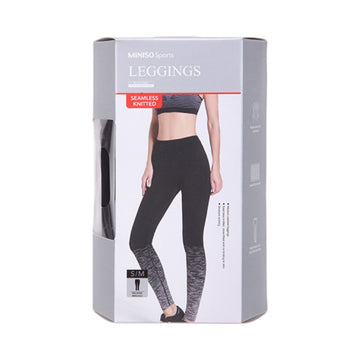 Miniso Fitness Leggings (Black+Grey S/M) 1200035553