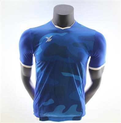 Fbt R.Blue Jersey Short Sleeve Football Uniform