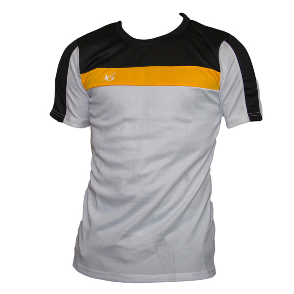 K6 White / Asn104  Jersey Short Sleeve Football (m)