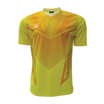 Fbt 12-252 / Yellow Jersey Short Sleeve Football (m)