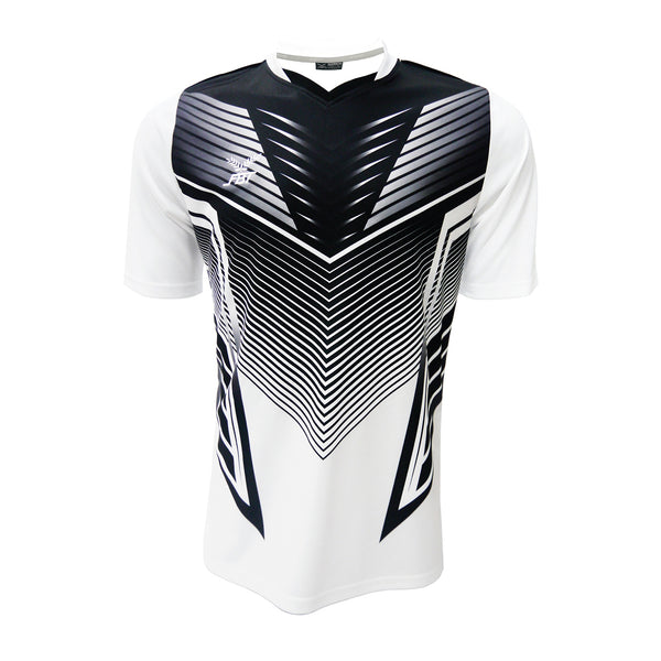 Fbt 12-252 / White Jersey Short Sleeve Football (m)