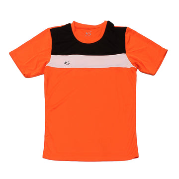K6 ASN138 / Orange Jersey Short Sleeve Football (m)