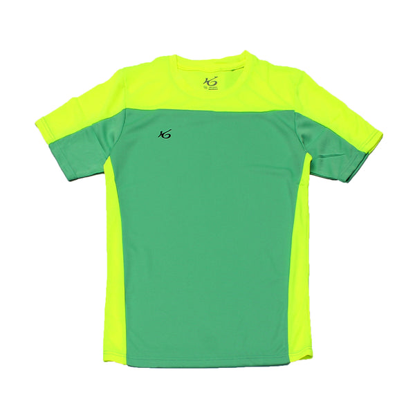 K6 ASN139 / Green Jersey Short Sleeve Football (m)