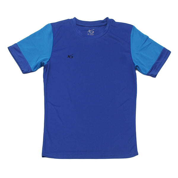 K6 ASN143 / Blue Jersey Short Sleeve Football (m)