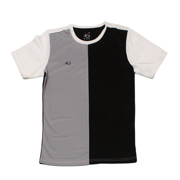K6 ASN149 / Black Jersey Short Sleeve Football (m)