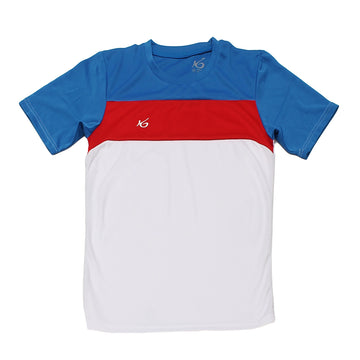 K6 ASN153 / White Jersey Short Sleeve Football (m)