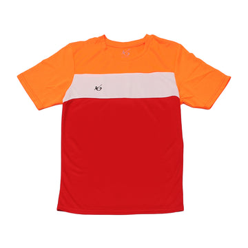 K6 ASN154 / Red Jersey Short Sleeve Football (m)