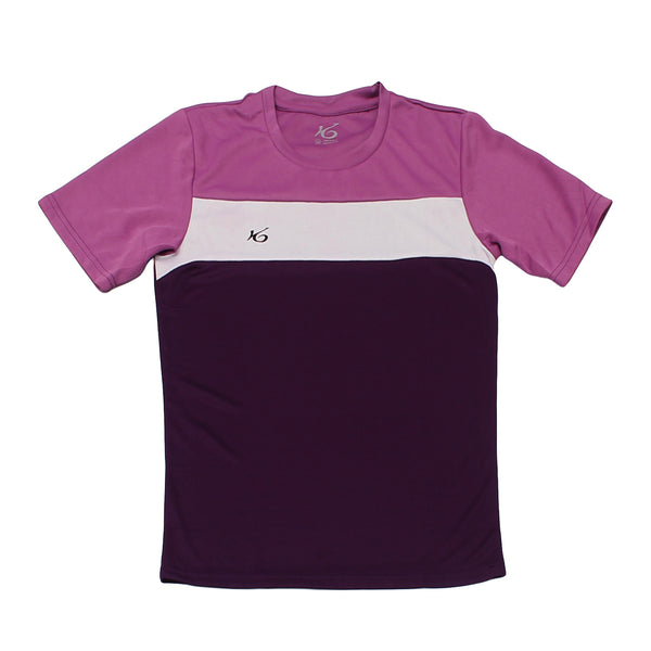 K6 ASN155 / Purple Jersey Short Sleeve Football (m)