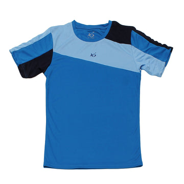 K6 ASN156/ Blue Jersey Short Sleeve Football (m)