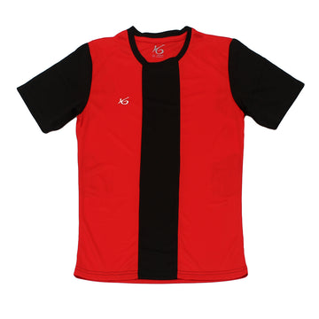 K6 ASN158 / Red Jersey Short Sleeve Football (m)