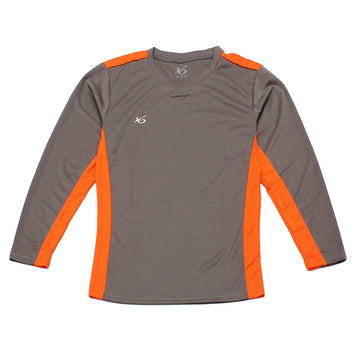K6 ASN164 / Grey Jersey Long Sleeve Football (m)