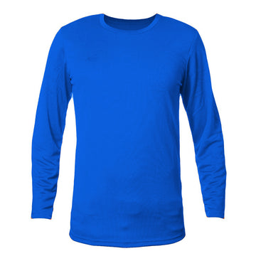 K6 ASN166 / Blue Jersey Long Sleeve Football (m)