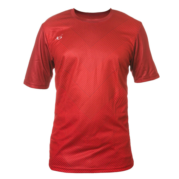 K6 BSNS27 / Red Jersey Short Sleeve Football (m)