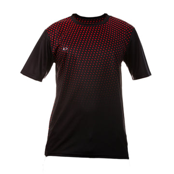 K6 BSNS38 / Black Jersey Short Sleeve Football (m)