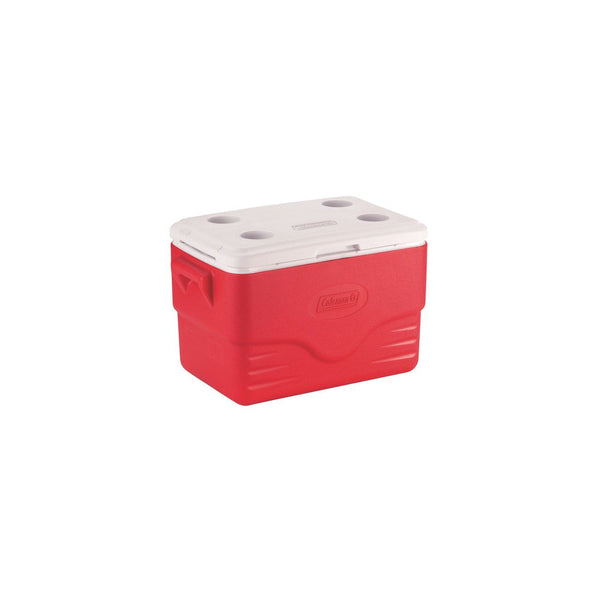 Coleman 6281A703G 34L Red Cool Box
