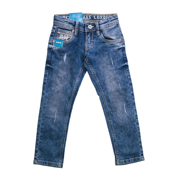 Pepe Jeans Farco Ip PB201616J67 MED USED Denim Jeans Young Boys