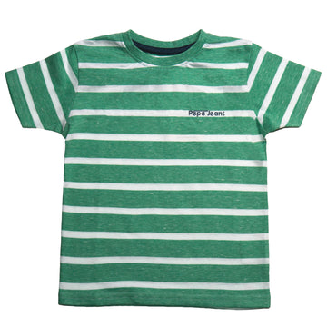 Pepe Jeans Owen Ss Ip PB502973 GREEN T-Shirt Short Sleeve Young Boys