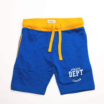 Pepe Jeans Olsen Ip PB800613 ROYAL BLUE Short Young Boys