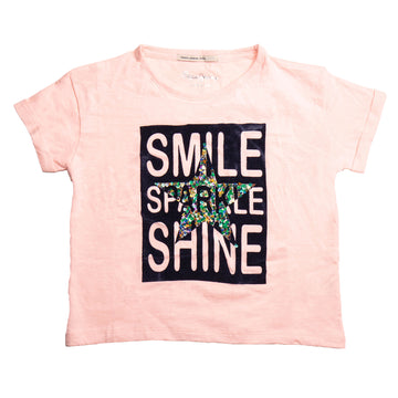 Pepe Jeans Carrie Ip PG502558 PINK T-Shirt Short Sleeve Young Girls