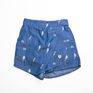 Pepe Jeans Fio Ip PG800693B29 LT WASH Walkshort Young Girls