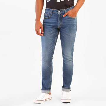 LEVIS SKINNY STRAIGHT COLOMBO 65504-0506 DENIM PANT (JEANS) (M)