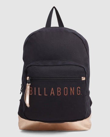 BILLABONG SHINE ON BKPBLCK 6603001A-BLK BACKPACK (W)